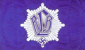 Вариант флага союза противовоздушной обороны (RLB)