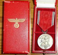 """Футляр с медалью """"В память 13 марта 1938"""""""