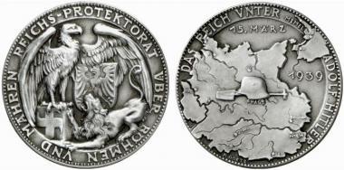 Немецкая медаль, посвященная аншлюсам