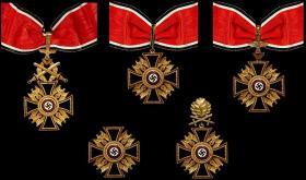 Возможные варианты исполнений Германского ордена (реплики)