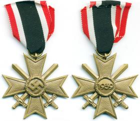 Крест военных заслуг 2-й степени с мечами