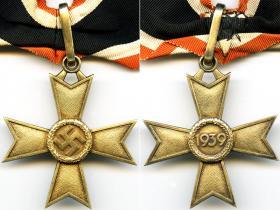 Золотой Рыцарский крест Креста военных заслуг изготовленный ювелирной мастерской Дешлера (частная коллекция)