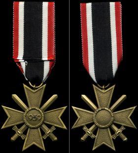 Денацифицированный вариант Креста за военные заслуги 2-го класса