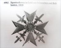 Испанским крестом в золоте с бриллиантами (изображение из каталога Ниммергута)