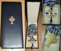 Вариант футляра на Крест немецкой матери в золоте