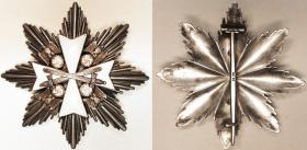 Нагрудная звезда к Большому Кресту Ордена немецкого Орла с мечами (частная коллекция)