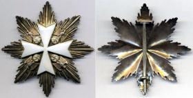 Нагрудная звезда к Большому Кресту Ордена немецкого Орла без мечей (частная коллекция)
