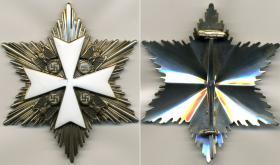 Нагрудная звезда к Ордену немецкого Орла 2-го класса без мечей (частная коллекция)