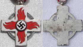 Почетный крест пожарного 2-го класса (поздний тип)