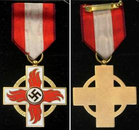 Почетный крест пожарного 1-го класса (поздний тип)