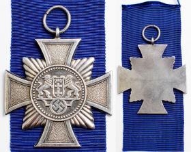 Крест за 18 лет службы в полиции Данцига