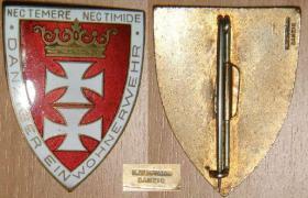 Данцигский щит за верную службу вольному городу Данциг (основной тип)