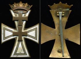 Данцигский крест 1-го класса (вариант на булавке)