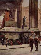Картина художника Э.Эбера «И всё же вы победили» 1942 год