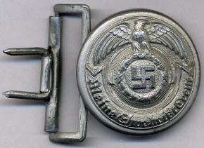 Алюминиевая пряжка офицера SS.