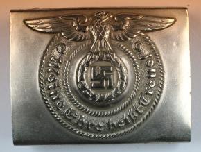 Мельхиоровая пряжка нижних чинов СС