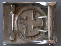 Пряжка Датского Добровольческого Корпуса СС
