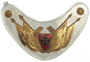 Горжет Знаменосца Nationalsozialistisches Reichskriegerbund (NSRKB) (Национал-социалистский союз ветеранов войны)