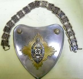 Горжет знаменосцев ветеранской организации NSKOV