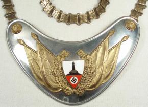 Горжет Знаменосца Deutscher Reichskriegerbund (DRKB) – (Немецкий союз ветеранов войны)