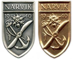 денацифицированный щит Нарвик (обр. 1957 года)