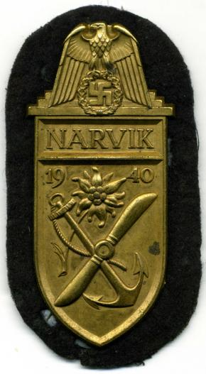 """щит Нарвик (""""золотой"""")"""