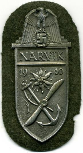 щит Нарвик (серебристый)