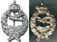 Реплики памятного знак лётчика Первой мировой войны, Прусский и Баварский тип
