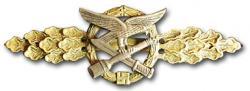 Реплика золотой планки За ближний бой Военно-воздушных сил Люфтваффе