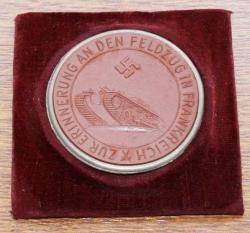 Памятная медаль за взятие Парижа. Аверс.