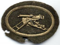 Знак снайперской пулемётной команды
