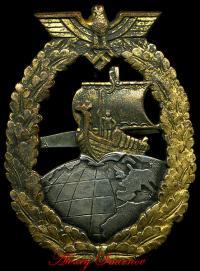 Военный знак вспомогательных крейсеров изготовленный во Франции