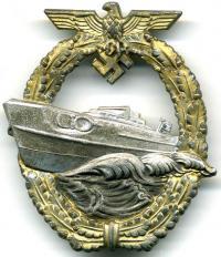Военный знак для торпедных катеров, первый тип