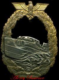 Военный знак для торпедных катеров, французский тип