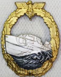 Военный знак для торпедных катеров, второй тип