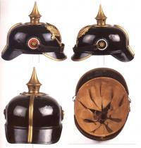пикельхельм, пруссия, первая мировя война (подшлемник)