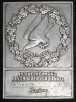 "Плакета ""За выдающиеся заслуги во время службы на Крите"""