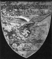 """Плакета """"За командование военно-воздушными силами на Юго-востоке"""""""