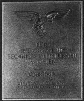"""Плакета """"За выдающиеся заслуги на востоке (второй воздушный флот)"""""""