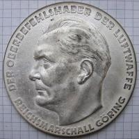 """Неносимая медаль """" За выдающиеся заслуги в технической службе Люфтваффе"""""""