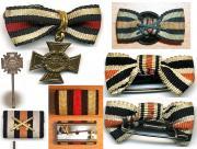 Фельдшпанги и миниатюры Креста Чести