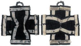 Ранний вариант шитого Железного креста 1-й степени образца 1813 года из Берлинского Исторического Музея