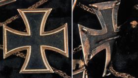 Железный крест 1-й степени принадлежал лично фельдмаршалу Гебхарду Леберехт фон Блюхеру