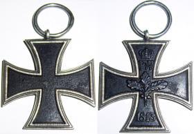 Железный крест 2-й степени образца 1813 года. Поздний выпуск.