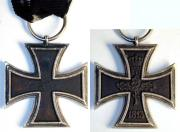 Железный крест 2-й степени образца 1813 года. Принценгроссе (уменьшенный в два раза от оригинала) 32 мм; ~ 1839 год