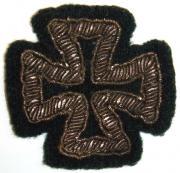Шитая версия Кульмского креста.