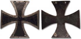 """Солдатский Кульмский крест (изображение взято из Интернет-каталога 34 аукциона фирмы """"Монеты и медали"""")"""