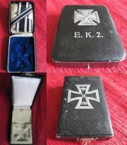 Некоторые из видов футляров от Железного креста 2-й степени образца 1914 года