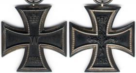 Железный крест 2-й степени образца 1914 года