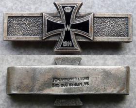 Планка повторного награждения Железным крестом, к кресту 1870 года